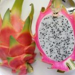 Red Dragon Fruit with White Interior